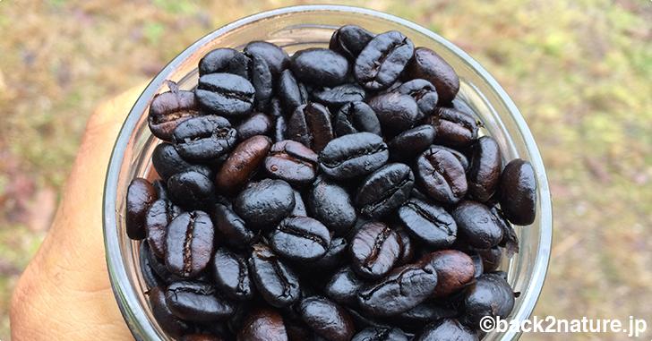 コーヒーの生豆をフライパンで焙煎してみる